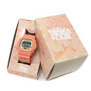 CASIOカシオ x IN4MATIONインフォメーション G-SHOCKGショック ジーショック 腕時計 GLX-5600XA ピンク|lucio