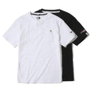 送料無料 THE NORTH FACE WHITE LABEL ノースフェイス Tシャツ メンズ コットン DELANO 刺繍 黒 size L 日本未発売 lucio