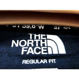 送料無料 THE NORTH FACE WHITE LABEL ノースフェイス Tシャツ メンズ コットン DELANO 刺繍 紺 size S 日本未発売 lucio 03