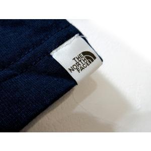 送料無料 THE NORTH FACE WHITE LABEL ノースフェイス Tシャツ メンズ コットン DELANO 刺繍 紺 size S 日本未発売 lucio 05