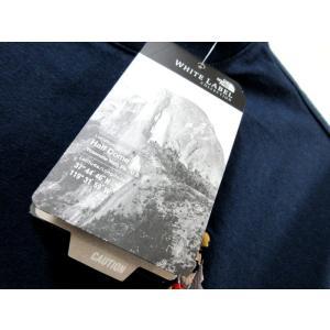 送料無料 THE NORTH FACE WHITE LABEL ノースフェイス Tシャツ メンズ コットン DELANO 刺繍 紺 size S 日本未発売 lucio 06