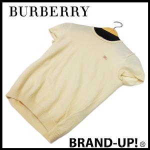 バーバリー ブルーレーベル ニット レディース ウール 半袖 38 中古|lucio