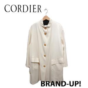 美品 コルディア ワールド コート レディース ウール シルク 軽量 ベージュ サイズ 40 中古|lucio