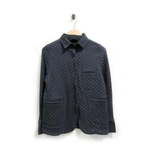 アーメン ジャケット コート レディース キルティング スウェット フランス製 紺 S 中古|lucio