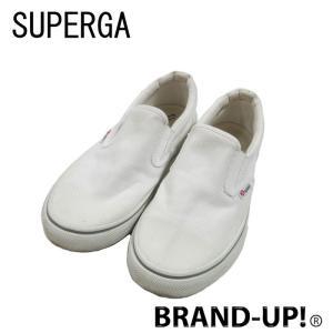 美品 スペルガ 靴 スニーカー レディース キャンバス 白 サイズ 37 S009N90 中古|lucio