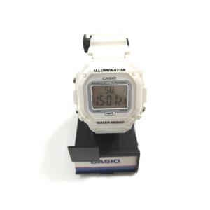 美品 カシオ 腕時計 メンズ レディース デジタル クォーツ F108-WHC 中古|lucio