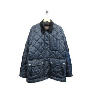 美品 コーチ ジャケット ブルゾン コート メンズ ナイロン キルティング 中綿 黒 M 中古|lucio