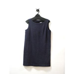 美品 ボードビル ワンピース レディース ウール 紫 ミックス糸 サイズ 38 中古|lucio