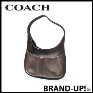 COACH コーチ バッグ ショルダーバッグ メンズ レディース レザー 9033 茶 中古|lucio