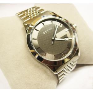 グッチ 腕時計 メンズ G-TIMELESS YA126418  ジャパン リミテッド エディション シルバー 中古|lucio