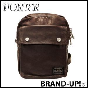 PORTER ポーター バッグ ウエストバッグ メンズ レディース フリースタイル ブラウン 707-07174 YOSHIDA|lucio