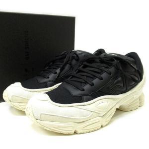 18AW adidas by RAF SIMONS アディダス x ラフシモンズ RS OZWEEGO 27.5cm ブラックxホワイト F34264 スニーカー 靴|lucio