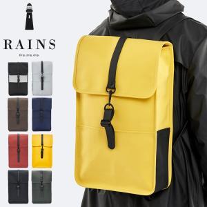 ブランド:RAINS(レインズ) 品番:BACKPACK カラー展開:ブラック/グリーン/パシフィッ...