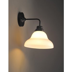 レトロ&モダンインテリアに! 明治28年創業後藤照明 GLF-3254 ベルリヤ・BK型BK 60Wホワイトシリカ球付 (glf3254)|luciva