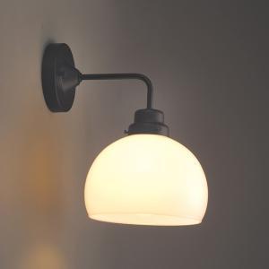 レトロ&モダンインテリアに! 明治28年創業後藤照明 GLF-3259 鉄鉢・BK型BK 60Wホワイトシリカ球付 (glf3259)|luciva