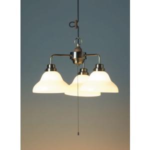 レトロ&モダンインテリアに! 明治28年創業後藤照明 GLF-3352X アリエス(ベルリヤ・3灯用CP型BR) 電球なし (glf3352x)|luciva