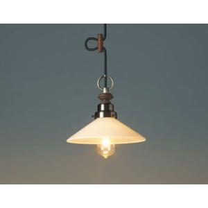 レトロ&モダンインテリアに! 明治28年創業後藤照明 GLF-3369X カプリコーン(乳白P1・CP型BR) 電球なし (glf3369x)|luciva