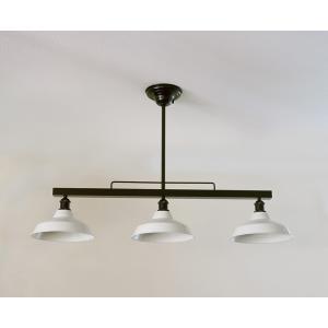 インダストリアルライト スチール製3灯ペンダントライト SSL001BK-2421(ランプ別売)|luciva