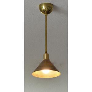 インダストリアルライト 真鍮生地ペンダントライト SSL101-C  【5種類の高さが選べます】(ランプ別売)|luciva