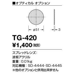 TG-420 山田照明 Mor SPOT(モル・スポット) スプレッドレンズ|luciva