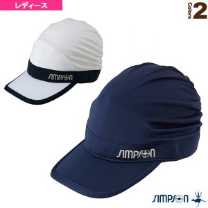 シンプソン テニスアクセサリ・小物  無地キャスケット/レディース(STA-C07)