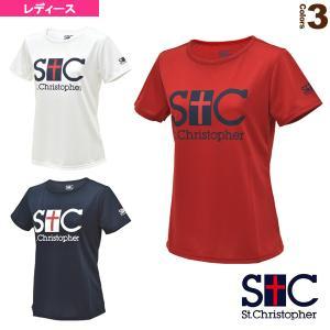 セントクリストファー テニス・バドミントンウェア(レディース)  STC プラクティスTシャツ/レディース(STC-AGW6051)|luckpiece