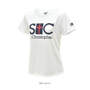 セントクリストファー テニス・バドミントンウェア(レディース)  STC プラクティスTシャツ/レディース(STC-AGW6051)|luckpiece|02