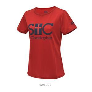 セントクリストファー テニス・バドミントンウェア(レディース)  STC プラクティスTシャツ/レディース(STC-AGW6051)|luckpiece|03