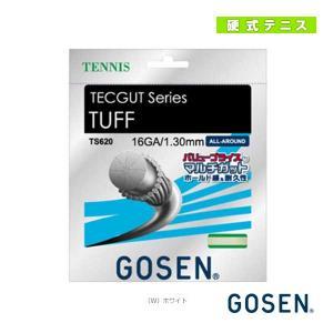ゴーセン テニスストリング(単張)  テックガット タフ 16/TECGUT TUFF 16(TS6...