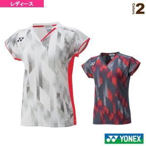 ヨネックス テニス・バドミントンウェア(レディース) ゲームシャツ/フィットスタイル/レディース(2...