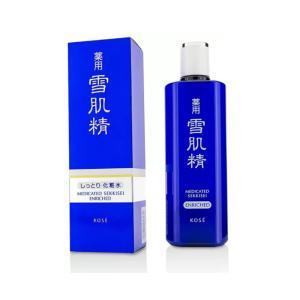和漢植物エキスのちからで、しっとり、 うるおいに満ちた雪の肌にみちびく薬用化粧水。