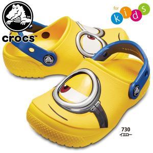 クロックス crocs クロックス ファン ラブ ミニオンズ クロッグ キッズ 204113 国内正規品 lucksports