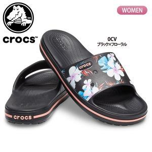 クロックス crocs レディース サンダル クロックバンド 3.0 シーズナル グラフィック スライド 205583 国内正規品 lucksports
