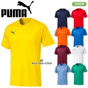 プーマ PUMA LIGA ジュニア ゲームシャツ コア 703630|lucksports