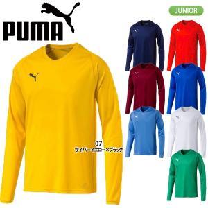 プーマ PUMA LIGA ジュニア 長袖 ゲームシャツ コア 703667|lucksports