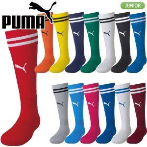 プーマ PUMA ライン入り ジュニア ストッキング 729882|lucksports