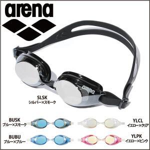 期間限定特価 アリーナ arena くもり止めスイムグラス ミラー加工 PANORA パノラ AGL-530M|lucksports
