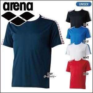 アリーナ arena  半袖 Tシャツ ワンポイント ARN-6331 メンズ ユニセックス lucksports