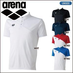 アリーナ arena 半袖 ポロシャツ タイトシルエット ARN-6333 メンズ ユニセックス lucksports