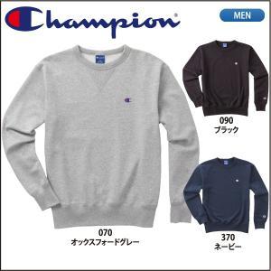 チャンピオン  Champion クルーネックスウェットシャツ ベーシックパフォーマンス C3-LS050|lucksports