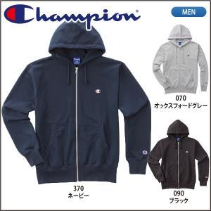 チャンピオン  Champion  フルジップスウェットパーカー ベーシックパフォーマンス C3-LS150|lucksports
