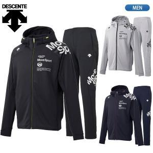 デサント DESCENTE Move Sport ムーブスポーツ スウェット パーカー パンツ 上下セット DMMOJF24 DMMOJG24|lucksports