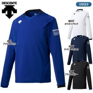デサント DESCENTE バレーボールウェア 長袖 ライトゲームシャツ メンズ DSS-5910|lucksports