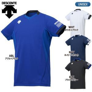 デサント DESCENTE バレーボールウェア 半袖 ライトゲームシャツ メンズ DSS-5920|lucksports