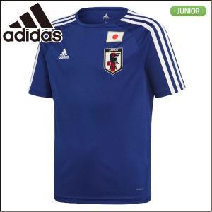 アディダス adidas ジュニア キッズ サッカー日本代表 ホーム レプリカ Tシャツ DTQ74|lucksports