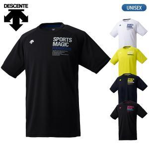 セール30%OFF デサント DESCENTE バレーボールウェア 半袖 プラクティスシャツ メンズ DVUNJA53 lucksports