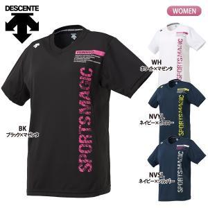 ■ メーカー DESCENTE 【デサント】  ■ 商品名 半袖プラクティスシャツ(ウィメンズ)  ...