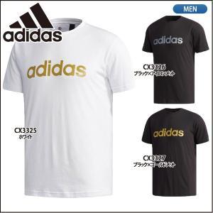 アディダス adidas Tシャツ ビッグリニアロゴ ETZ64 ランニング ジョギング|lucksports