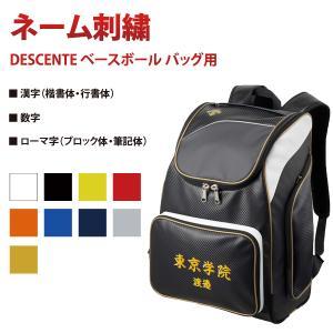 ※ バッグ(C-092E)と一緒にご注文ください  ■ 商品名 チーム名 & ネーム刺繍  ...