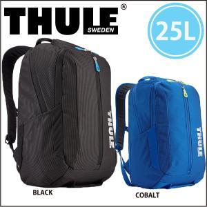 スーリー  THULE  バックパック クロスオーバー 25リッター TCBP-317 国内正規品 ブラック ブルー lucksports